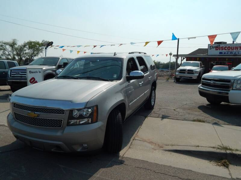 2008 Chevrolet Tahoe for sale at Dave's discount auto sales Inc in Clearfield UT