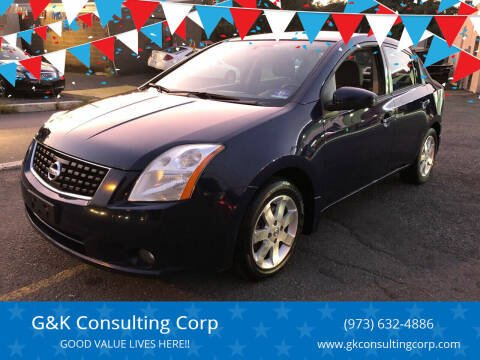 2008 Nissan Sentra for sale at G&K Consulting Corp in Fair Lawn NJ