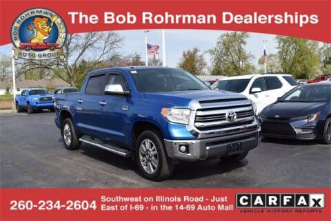 2016 Toyota Tundra for sale at BOB ROHRMAN FORT WAYNE TOYOTA in Fort Wayne IN