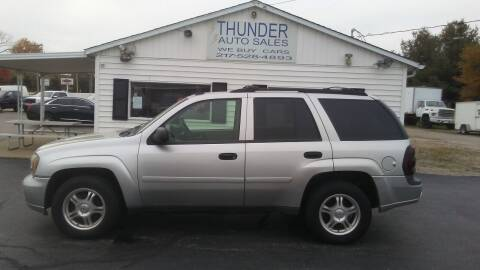 2006 Chevrolet TrailBlazer for sale at Thunder Auto Sales in Springfield IL