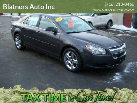 2012 Chevrolet Malibu for sale at Blatners Auto Inc in North Tonawanda NY