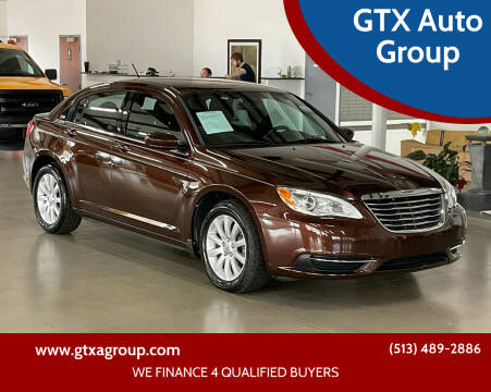 2013 Chrysler 200 for sale at GTX Auto Group in West Chester OH
