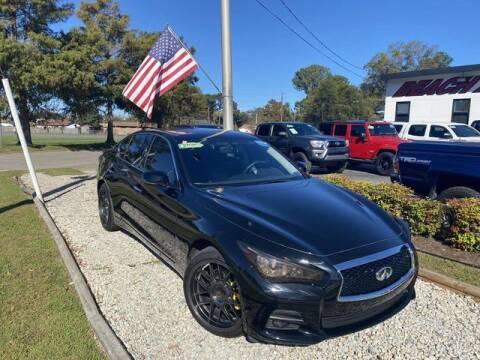 2016 Infiniti Q50 for sale at Beach Auto Brokers in Norfolk VA