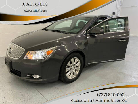 2012 Buick LaCrosse for sale at X Auto LLC in Pinellas Park FL
