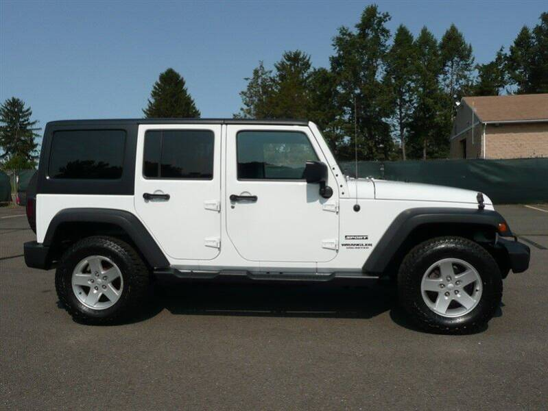 2016 Jeep Wrangler Unlimited Unlimited Sport 4WD - East Windsor CT