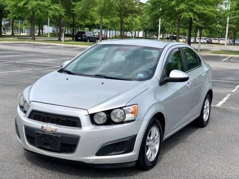2013 Chevrolet Sonic for sale at Supreme Auto Sales in Chesapeake VA