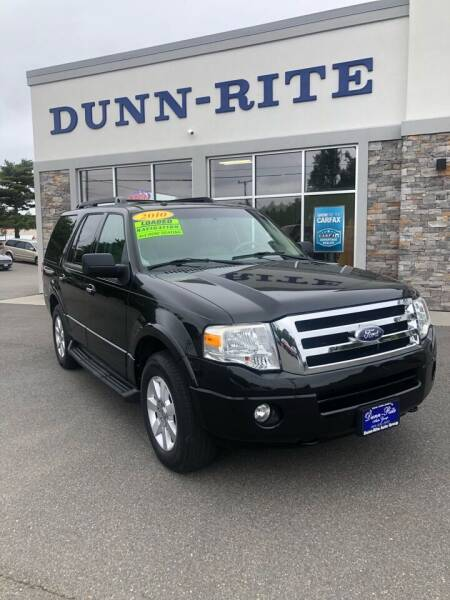 2010 Ford Expedition for sale at Dunn-Rite Auto Group in Kilmarnock VA
