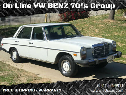 1975 Mercedes-Benz 240-Class for sale at On Line VW BENZ 70's Group in Warehouse CA