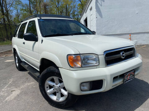 2004 Nissan Pathfinder for sale at JerseyMotorsInc.com in Teterboro NJ