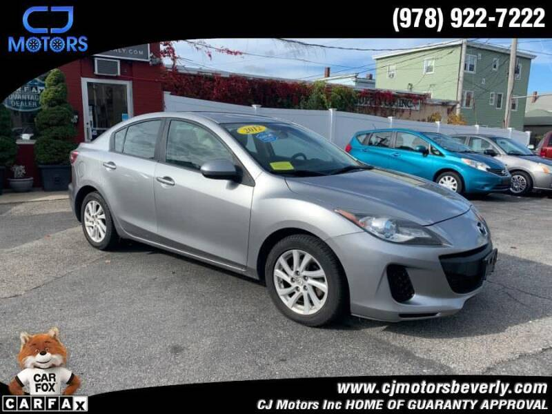 2012 Mazda MAZDA3 for sale at CJ Motors Inc. in Beverly MA