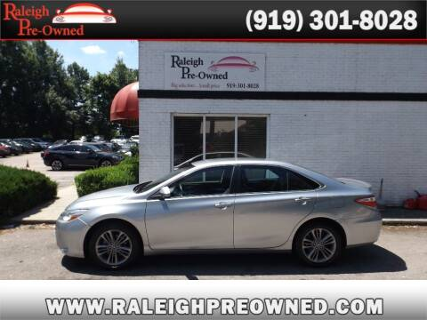 2016 Toyota Camry for sale at Raleigh Pre-Owned in Raleigh NC