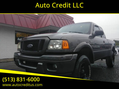 2004 Ford Ranger for sale at Auto Credit LLC in Milford OH