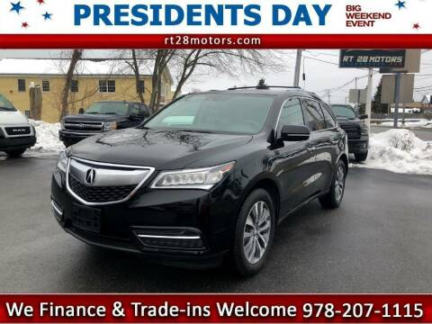2015 Acura MDX for sale at RT28 Motors in North Reading MA
