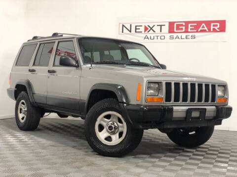 2001 Jeep Cherokee for sale at Next Gear Auto Sales in Westfield IN