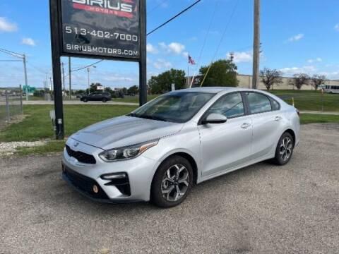 2020 Kia Forte for sale at SIRIUS MOTORS INC in Monroe OH