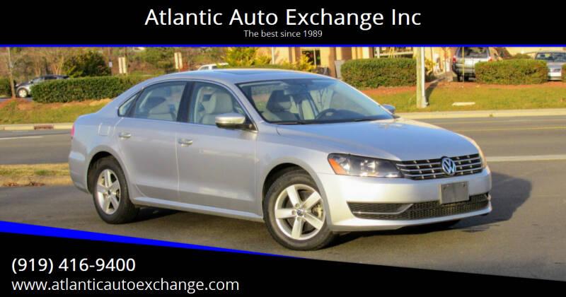 2013 Volkswagen Passat for sale at Atlantic Auto Exchange Inc in Durham NC
