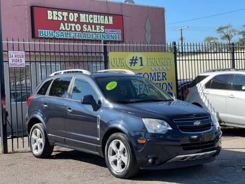 2014 Chevrolet Captiva Sport for sale at Best of Michigan Auto Sales in Detroit MI