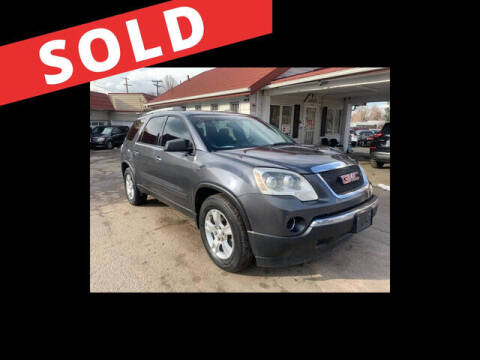 2011 GMC Acadia for sale at ELITE MOTOR CARS OF MIAMI in Miami FL