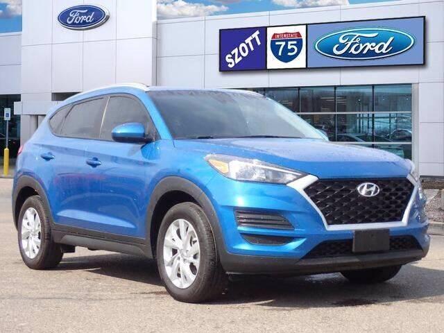 2020 Hyundai Tucson for sale at Szott Ford in Holly MI
