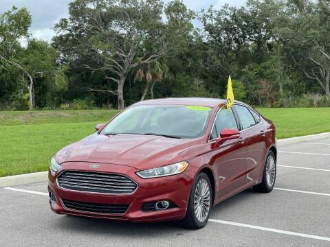 2014 Ford Fusion for sale at GENESIS AUTO SALES in Port Charlotte FL