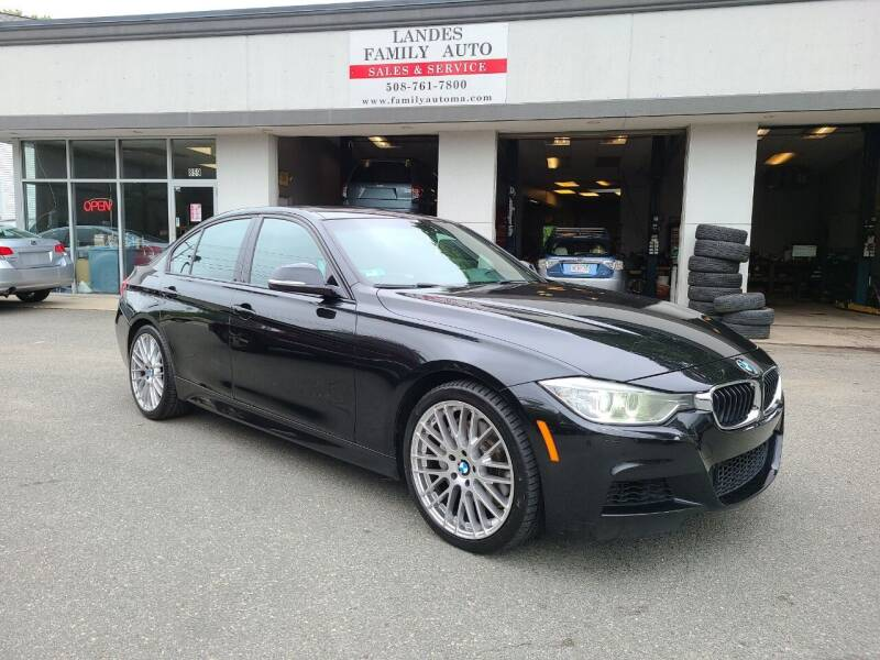 2013 BMW 3 Series for sale at Landes Family Auto Sales in Attleboro MA