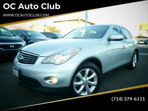 2010 Infiniti EX35 for sale at OC Auto Club in Midway City CA