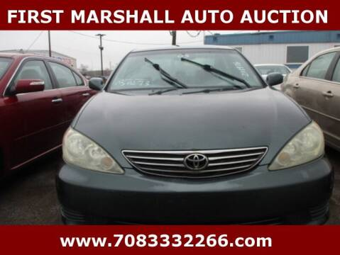 2005 Toyota Camry for sale at First Marshall Auto Auction in Harvey IL