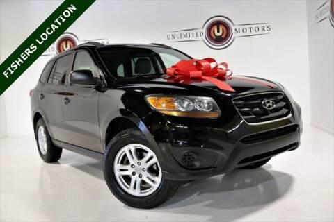 2011 Hyundai Santa Fe for sale at Unlimited Motors in Fishers IN