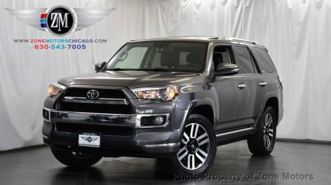 2015 Toyota 4Runner for sale at ZONE MOTORS in Addison IL