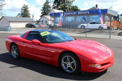 2004 Chevrolet Corvette for sale at All American Motors in Tacoma WA