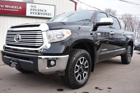2017 Toyota Tundra for sale at Dealswithwheels in Inver Grove Heights MN