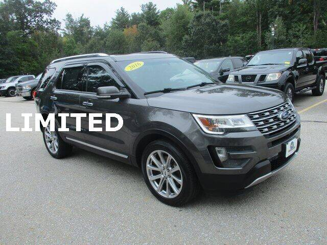 2016 Ford Explorer for sale at MC FARLAND FORD in Exeter NH