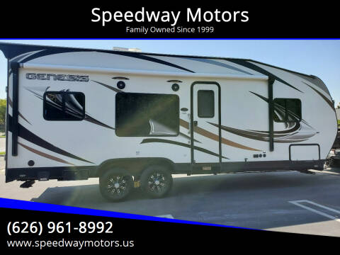 2019 Genesis SUPREME M-23FS TOY HAULER for sale at Speedway Motors in Glendora CA