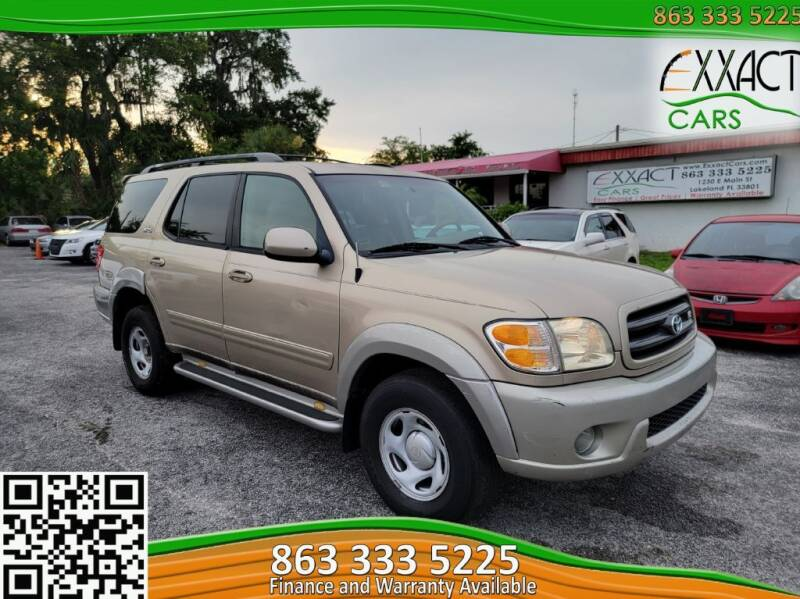 2004 Toyota Sequoia for sale at Exxact Cars in Lakeland FL