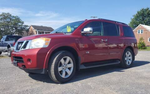 2008 Nissan Armada for sale at Tower Motors in Taneytown MD