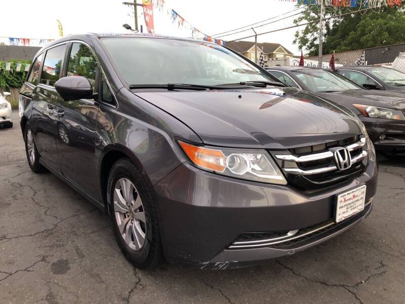 2015 Honda Odyssey for sale at Speedway Motors in Paterson NJ