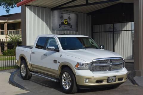 2015 RAM Ram Pickup 1500 for sale at G MOTORS in Houston TX