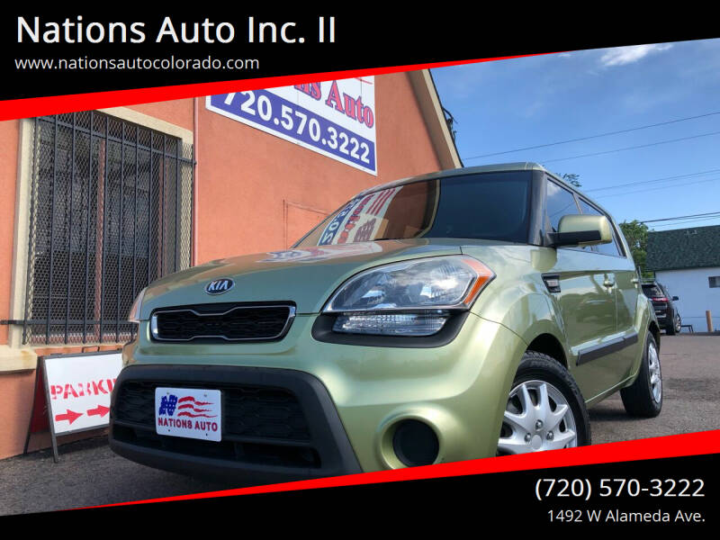 2013 Kia Soul for sale at Nations Auto Inc. II in Denver CO