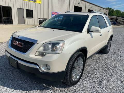 2010 GMC Acadia for sale at Alpha Automotive in Odenville AL