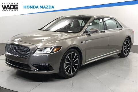 2020 Lincoln Continental for sale at Stephen Wade Pre-Owned Supercenter in Saint George UT
