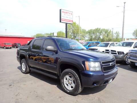 2008 Chevrolet Avalanche for sale at Marty's Auto Sales in Savage MN