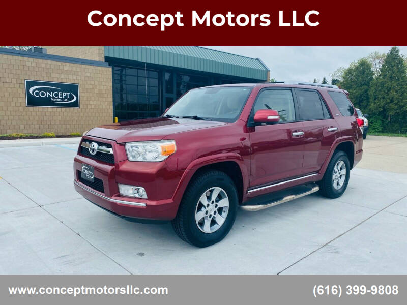 2011 Toyota 4Runner for sale at Concept Motors LLC in Holland MI