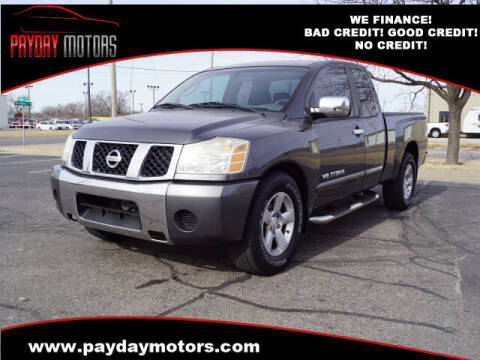 2005 Nissan Titan for sale at Payday Motors in Wichita And Topeka KS