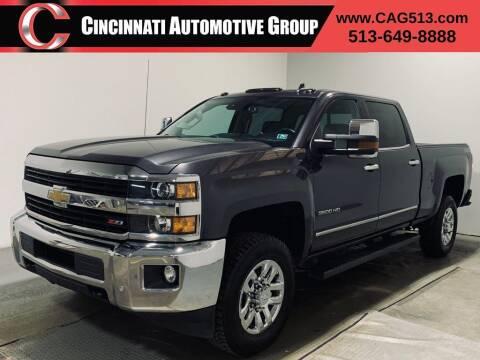 2015 Chevrolet Silverado 3500HD for sale at Cincinnati Automotive Group in Lebanon OH