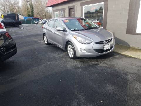 2013 Hyundai Elantra for sale at Bonney Lake Used Cars in Puyallup WA