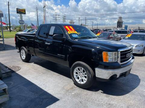 2011 GMC Sierra 1500 for sale at Texas 1 Auto Finance in Kemah TX