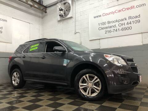 2015 Chevrolet Equinox for sale at County Car Credit in Cleveland OH