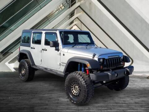 2012 Jeep Wrangler Unlimited for sale at Midlands Auto Sales in Lexington SC