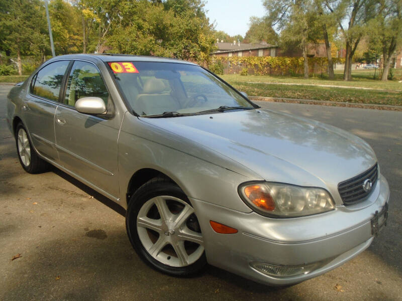 2003 Infiniti I35 for sale at Sunshine Auto Sales in Kansas City MO