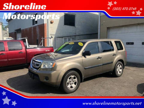 2009 Honda Pilot for sale at Shoreline Motorsports in Waterbury CT